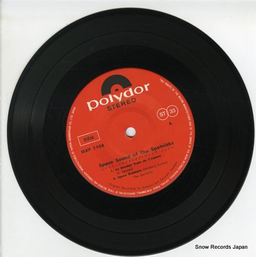 SPOTNICKS, THE space sound of the spootnicks SLKP-1108 - disc