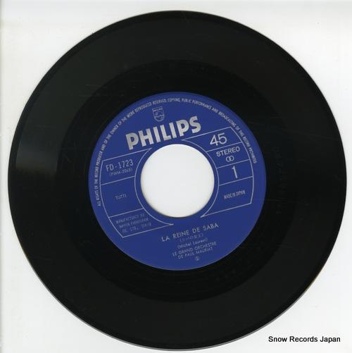 MAURIAT, PAUL la reine de saba FD-1723 - disc