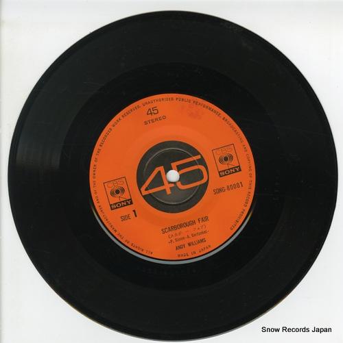 WILLIAMS, ANDY scarborough fair SONG80001 - disc