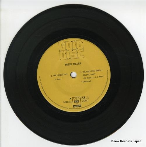 MILLER, MITCH mitch miller SOPD26 - disc