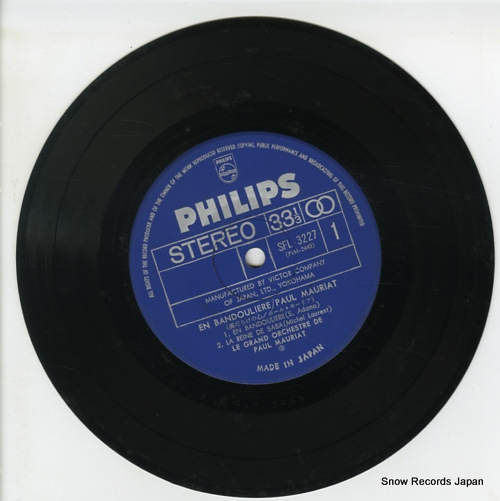 MAURIAT, PAUL en bandouliere SFL-3227 - disc