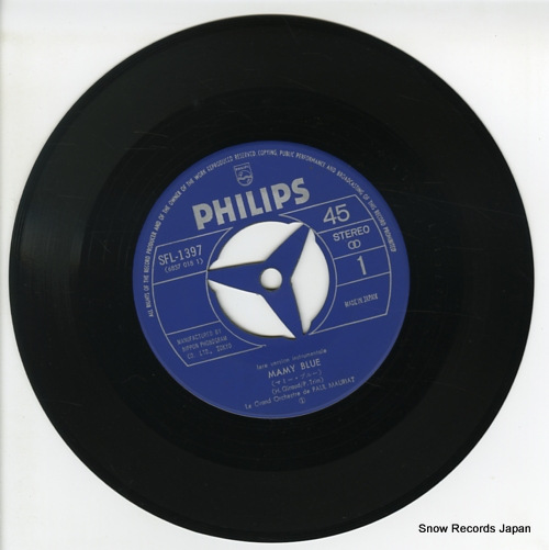 MAURIAT, PAUL mamy blue SFL-1397 - disc