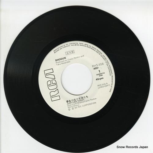 SHOGUN yume wo tsunagu kodomo tachi(just like today) RHS-556 - disc