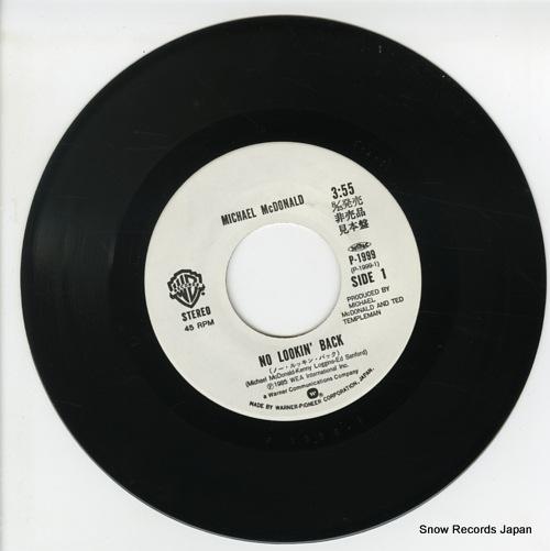 MCDONALD, MICHAEL no looking' back P-1999 - disc