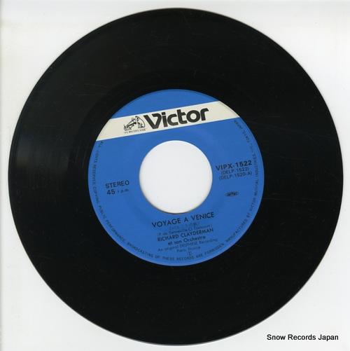 CLAYDERMAN, RICHARD voyage a venice VIPX-1522 - disc