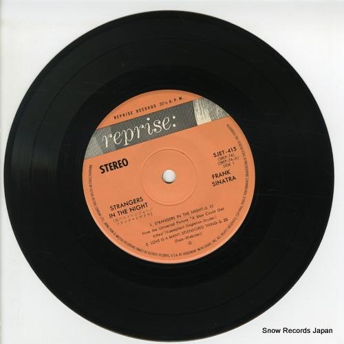SINATRA, FRANK strangers in the night SJET-415 - disc