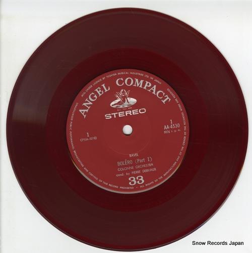 DERVAUX, PIERRE ravel; bolero(part 1) AA-4530 - disc