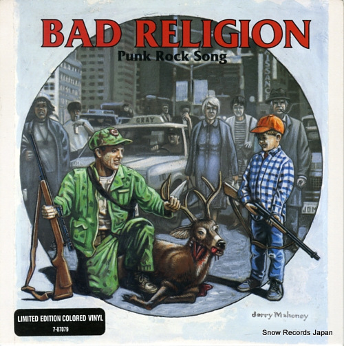 BAD RELIGION punk rock song 7-87079 - front cover