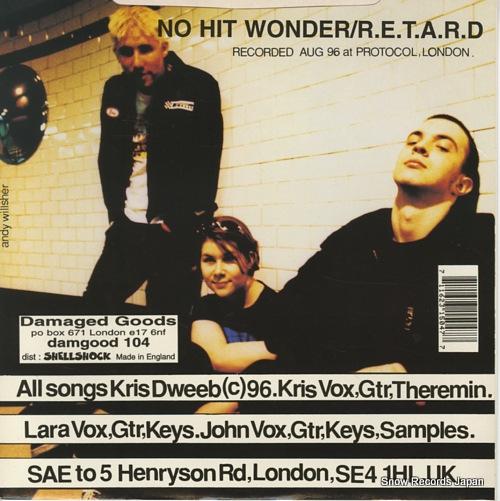 DWEEB no hit wonder DAMGOOD104 - back cover