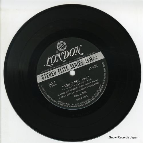 JONES, TOM vol.3 LS228 - disc
