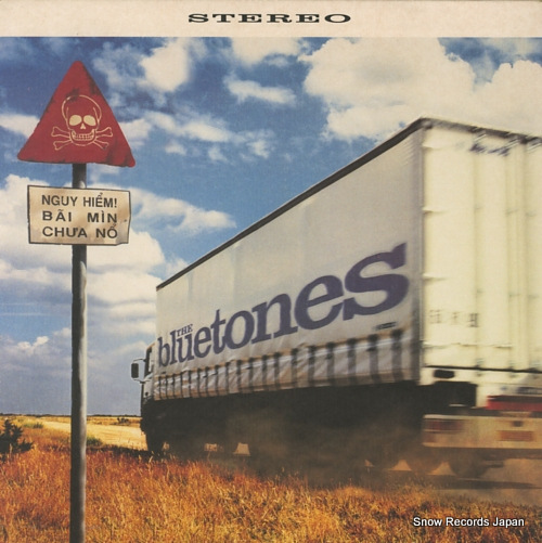 BLUETONES, THE bluetonic BLUE002X - front cover