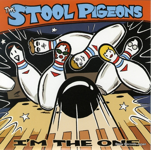 STOOL PIGEONS, THE i'm the one SFTRI501 - front cover
