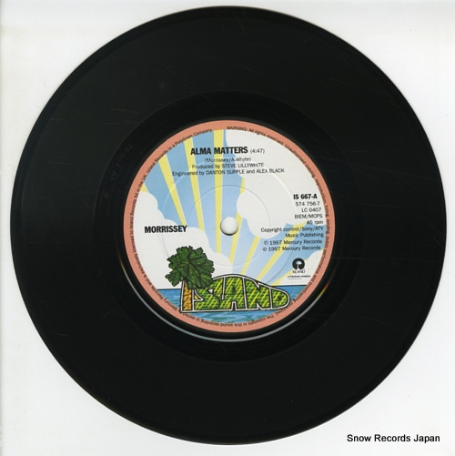 MORRISSEY alma matters IS667 - disc