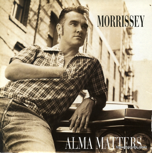 MORRISSEY alma matters IS667 - front cover