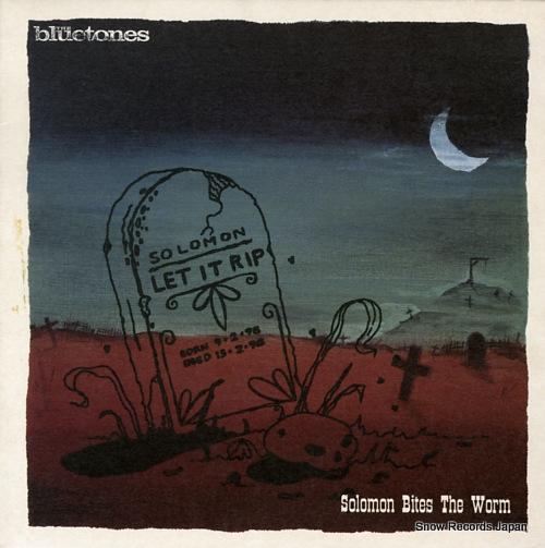 BLUETONES, THE solomon bites the worm BLUEX007 - front cover