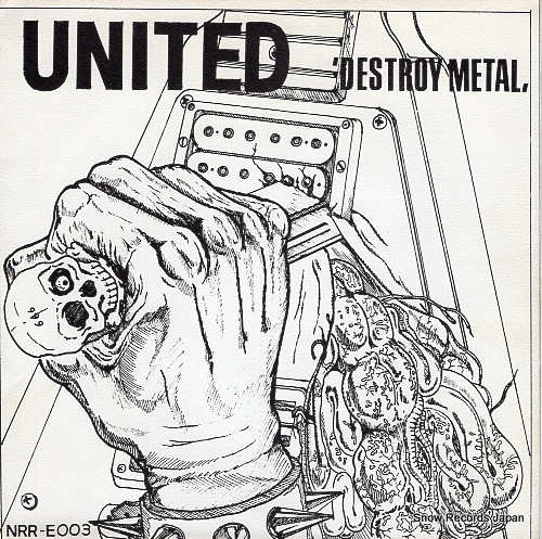 UNITED destroy metal NRR-E003 - front cover