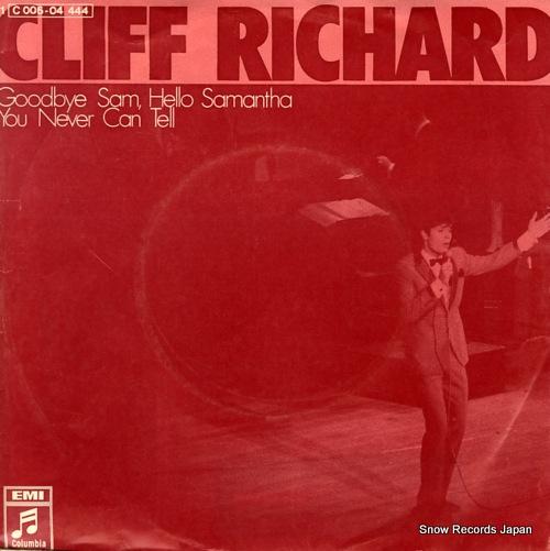 RICHARD, CLIFF goodbye sam, hello samantha 1C006-04444 - front cover