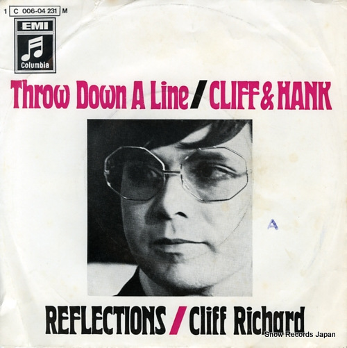 RICHARD, CLIFF throw down a line 1C-006-04-231-M - front cover