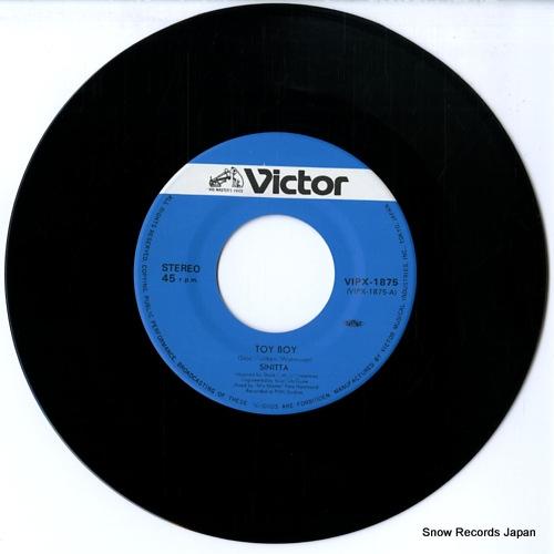 SINITTA toy boy VIPX-1875 - disc