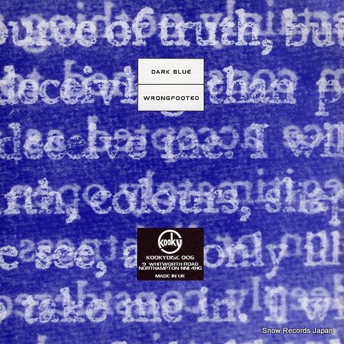 CODY dark blue KIIKYDISC006 - back cover