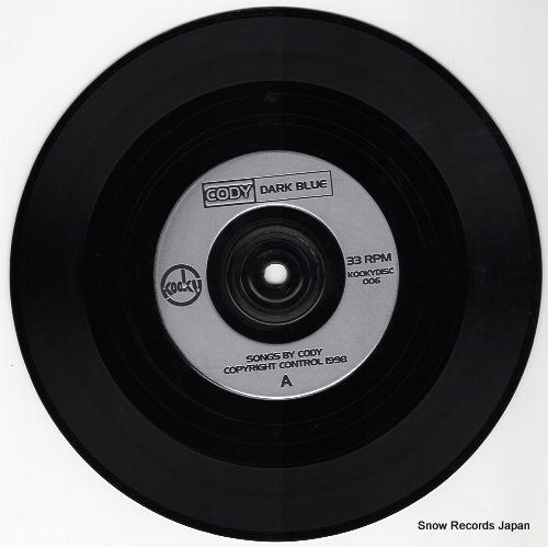 CODY dark blue KIIKYDISC006 - disc