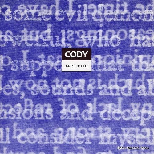 CODY dark blue KIIKYDISC006 - front cover
