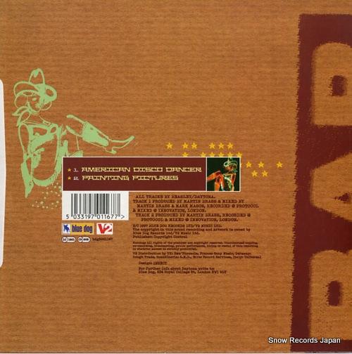 DAYTONA american disco dancer BDG5001167 - back cover