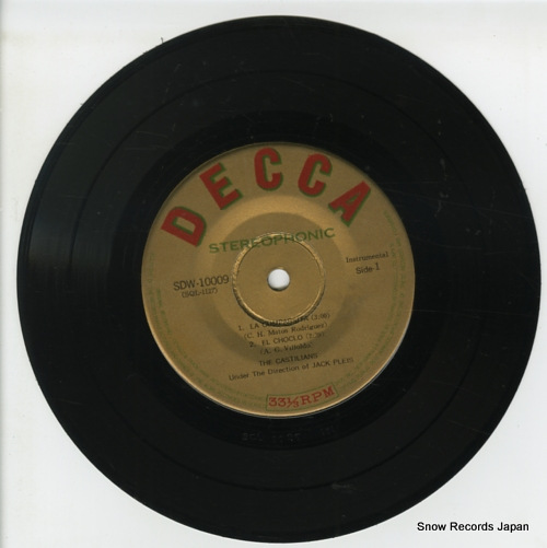 CASTILIANS, THE valentino tango SDW-10009 - disc
