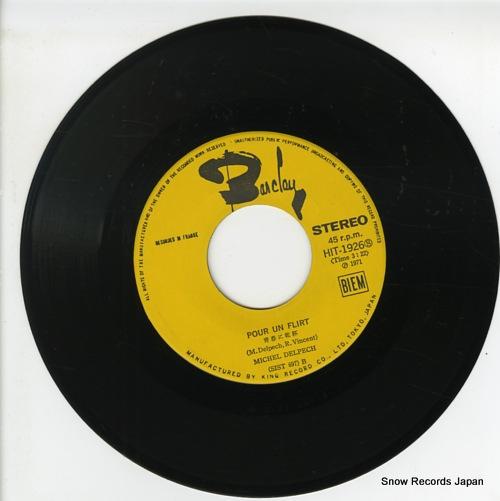 DELPECH, MICHEL pour un flirt HIT-1926 - disc