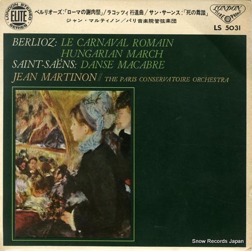 MARTINON, JEAN berlioz; le carnaval romain LS5031 - front cover