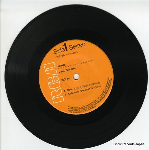 FELICIANO, JOSE rain SRA-86 - disc