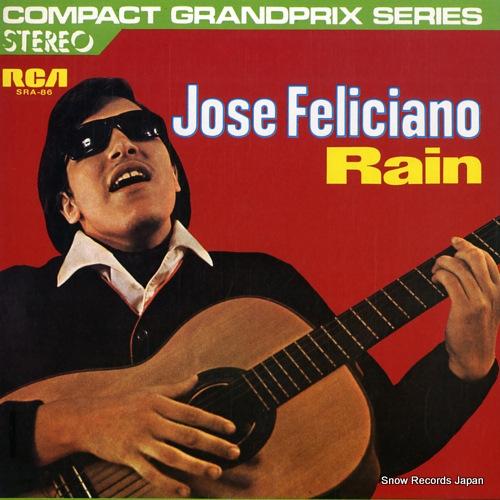 FELICIANO, JOSE rain SRA-86 - front cover