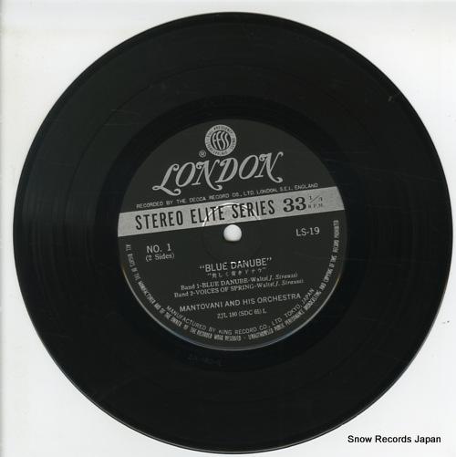MANTOVANI blue danube LS-19 - disc