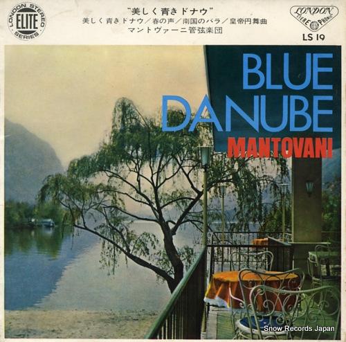 MANTOVANI blue danube LS-19 - front cover