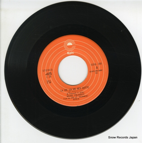 POLNAREFF, MICHEL la vie, la vie m'a quitte ECPB-280 - disc