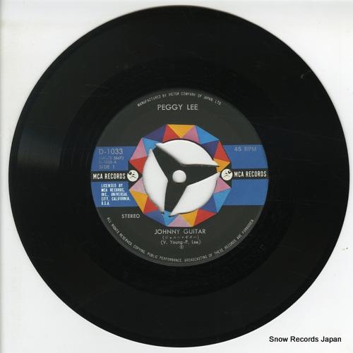 LEE, PEGGY johnny guitar D-1033 - disc