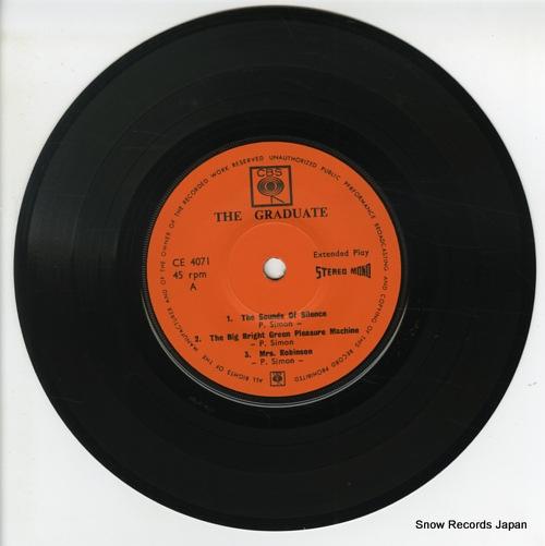 SIMON, PAUL / DAVE GRUSIN the graduate CE4071 - disc