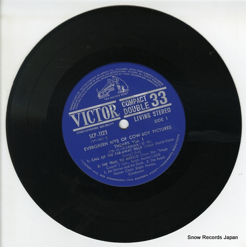 V/A evergreen hits of cow-boy pictures themes vol.1 SCP-1123 - disc