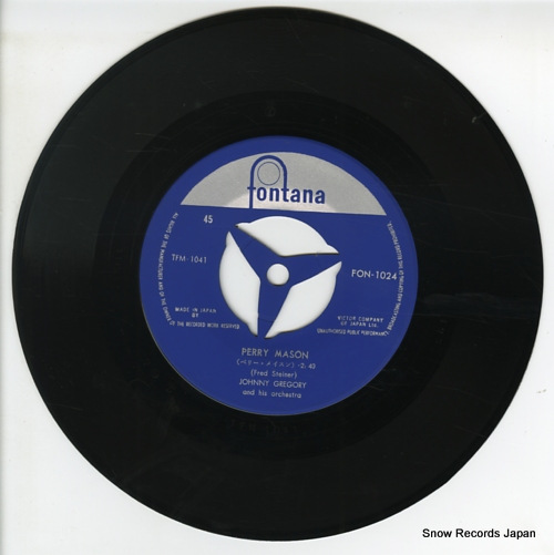 GREGORY, JOHNNY perry mason FON-1024 - disc