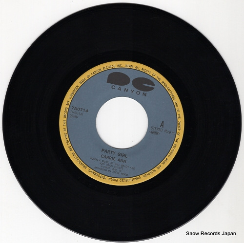 CARRIE, ANN party girl 7A0714 - disc