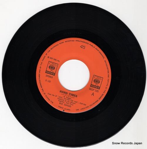 SCAGGS, BOZ hard times 06SP195 - disc