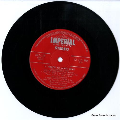 ROSENMAN, LEONARD screen music big4 a tribute to james dean SJET-125 - disc