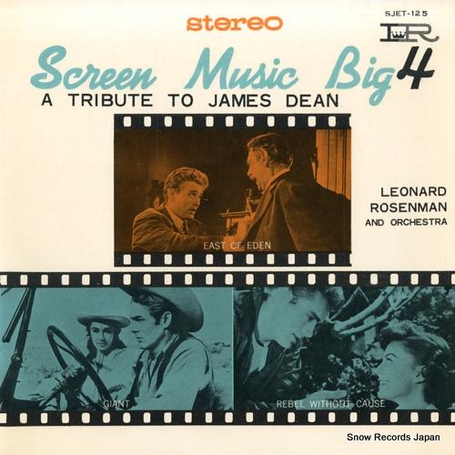 ROSENMAN, LEONARD screen music big4 a tribute to james dean SJET-125 - front cover