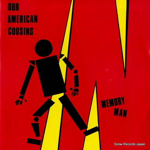 OUR AMERICAN COUSINS memory man SPONGEN02 - front cover