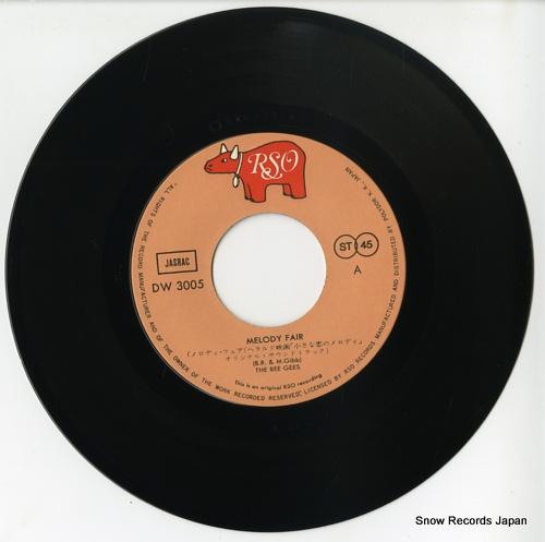BEE GEES, THE melody fair DW3005 - disc