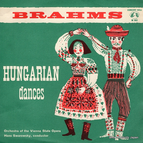 SWAROWSKY, HANS brahms; hungarian dances M942 - front cover