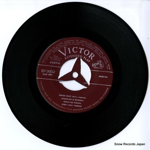 FIEDLER, ARTHUR danube waves EP-3032 - disc