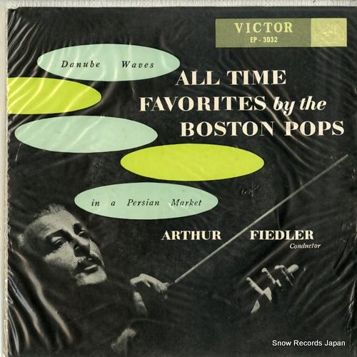 FIEDLER, ARTHUR danube waves EP-3032 - front cover