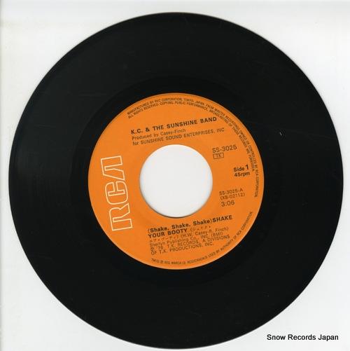 K.C. AND THE SUNSHINE BAND (shake, shake, shake) shake your booty SS-3025 - disc