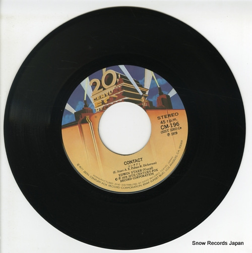 STARR, EDWIN contact CM-196 - disc